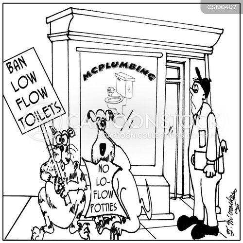 picket signs cartoon