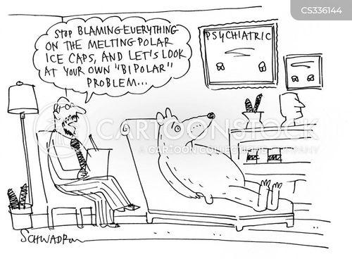 bi-polar cartoon