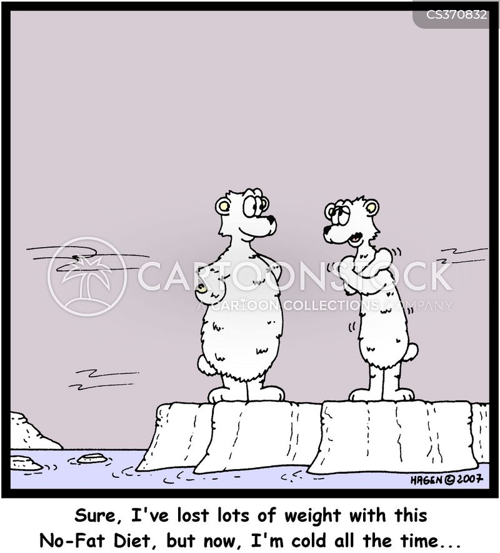 loosing weight cartoon