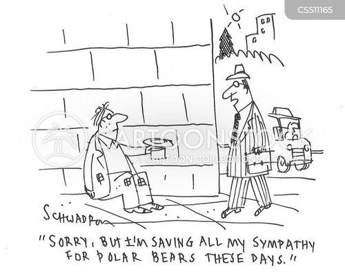 homelessness crisis cartoon