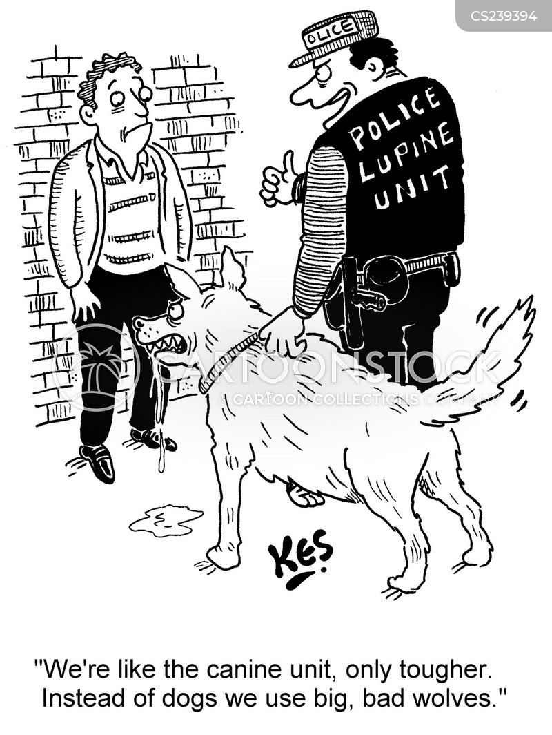 canine units cartoon
