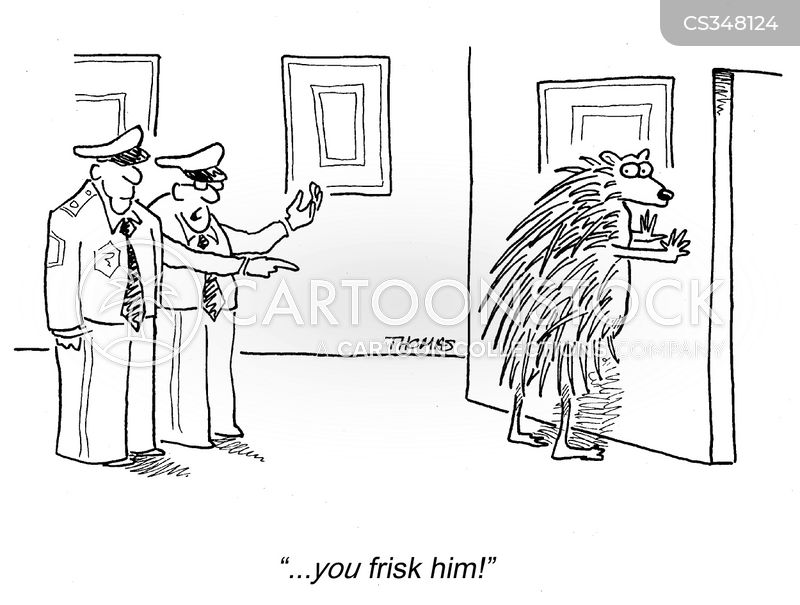 Body Search Cartoons And Comics