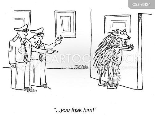 frisks cartoon