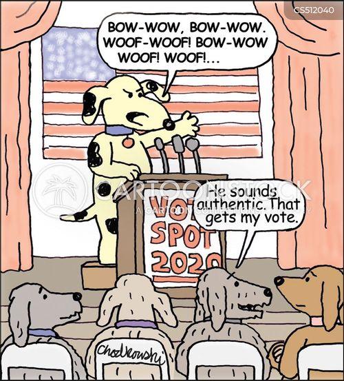 straight talking cartoon