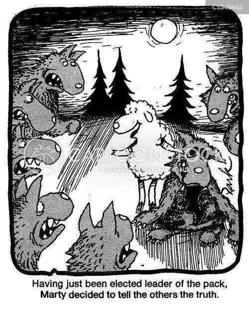 pack leader cartoon