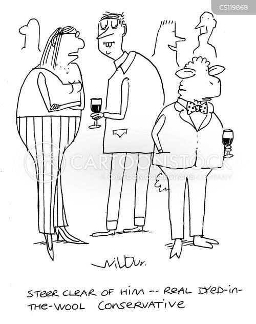 uncompromising cartoon