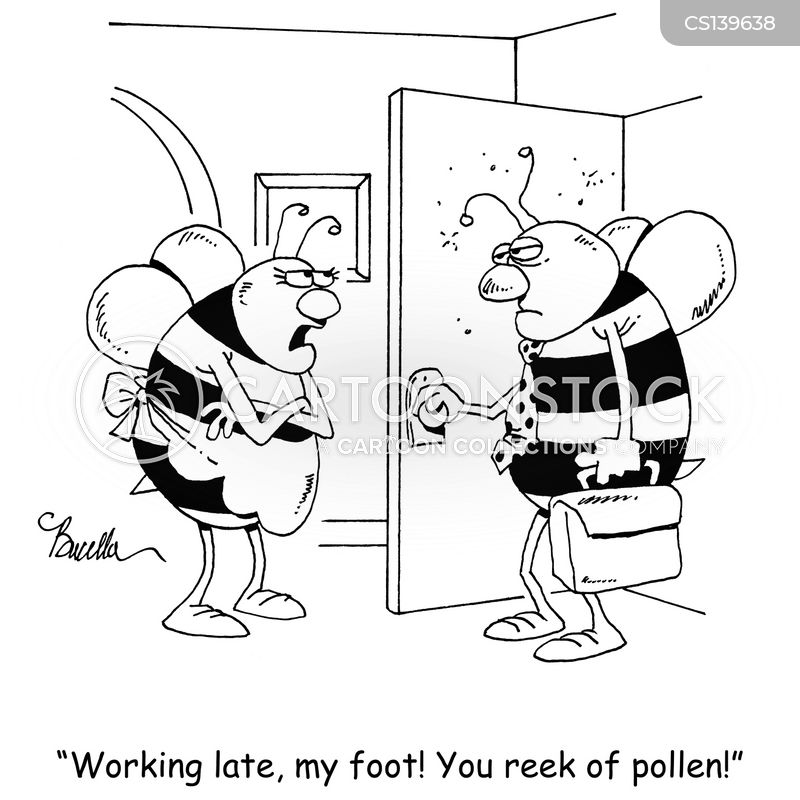 beekeepers cartoon