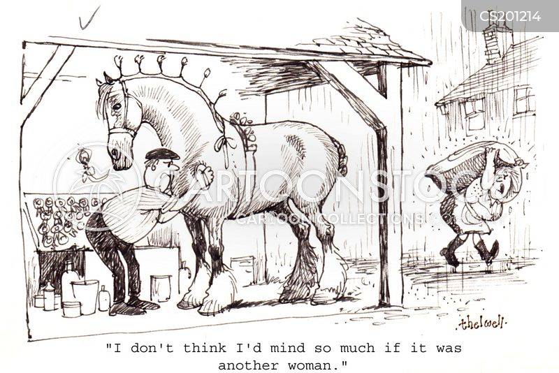 Stables cartoons, Stables cartoon, funny, Stables picture, Stables pictures, Stables image, Stables images, Stables illustration, Stables illustrations
