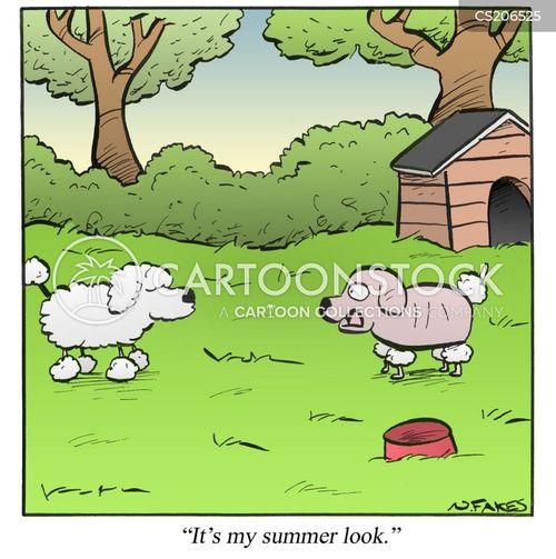 summer fashions cartoon