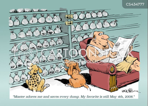unhealthy obsession cartoon