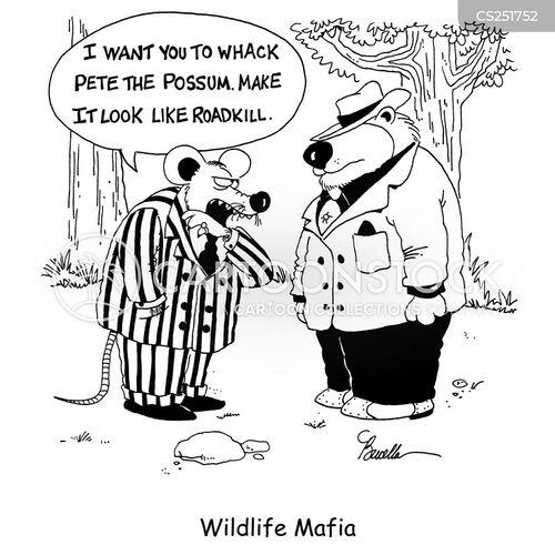 mafia cosa nostra cartoon