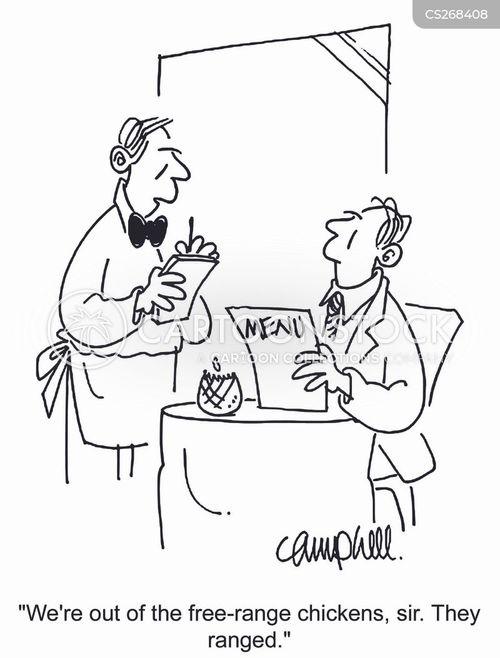 fresh foods cartoon