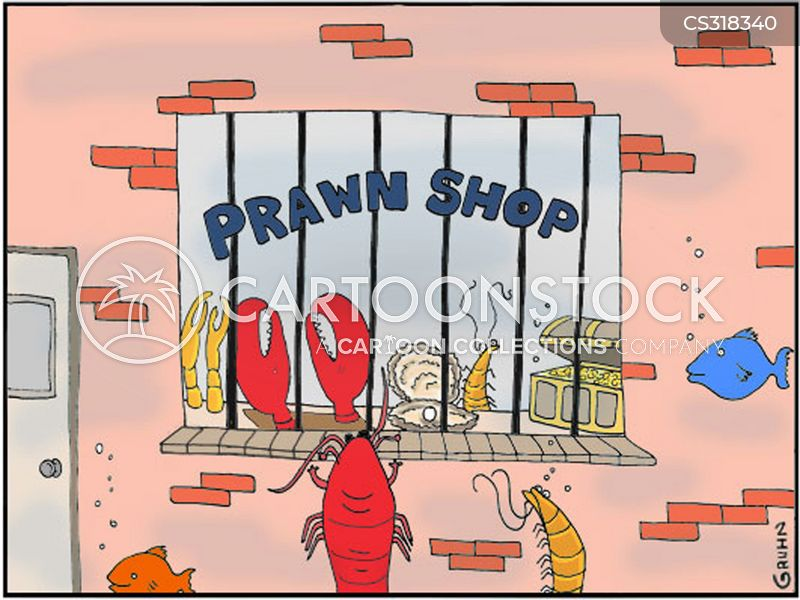 prawns cartoon