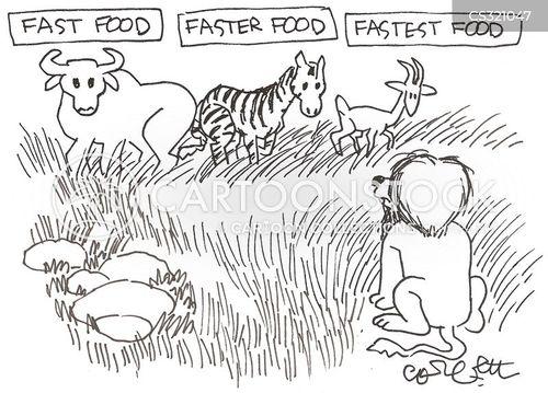 african plains cartoon