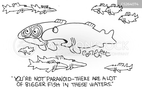 large fish cartoon