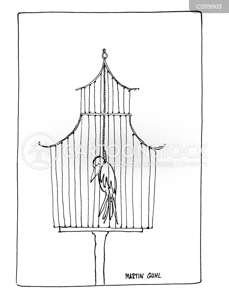 gilded cage cartoon