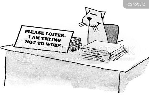 loiterers cartoon