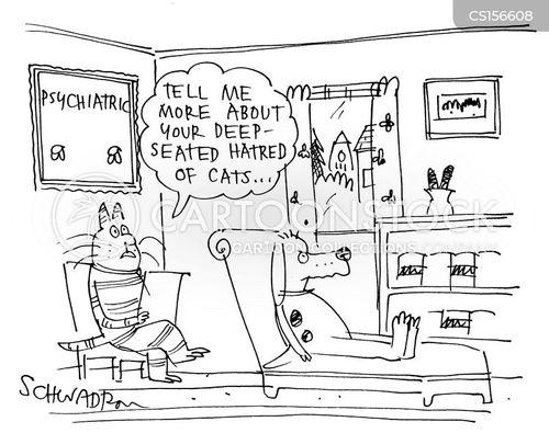 cat haters cartoon