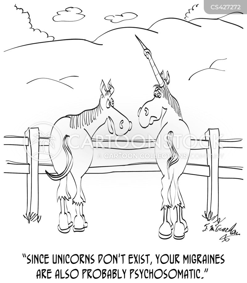 migraine cartoon