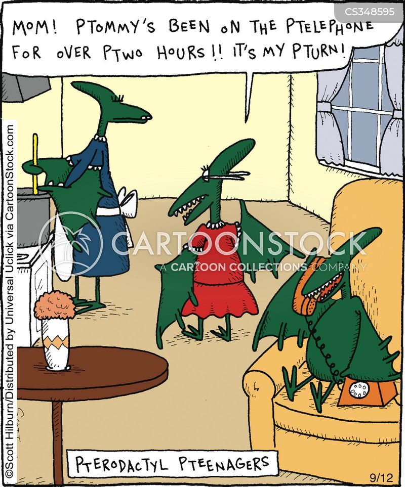 pterodactyls cartoon