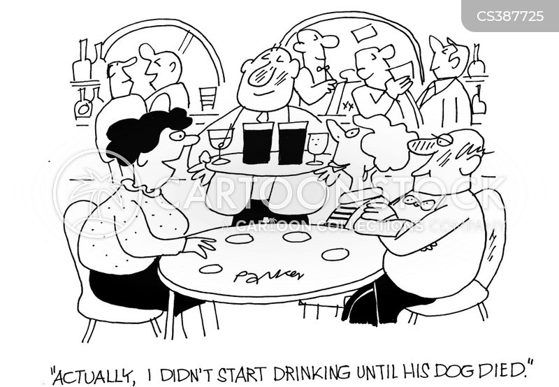 drown your sorrows cartoon