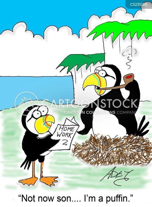 puffin cartoon