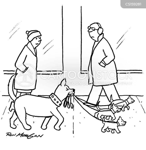 puppy litters cartoon