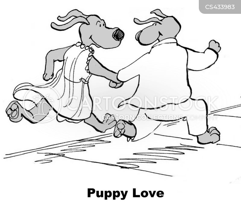 young lovers cartoon