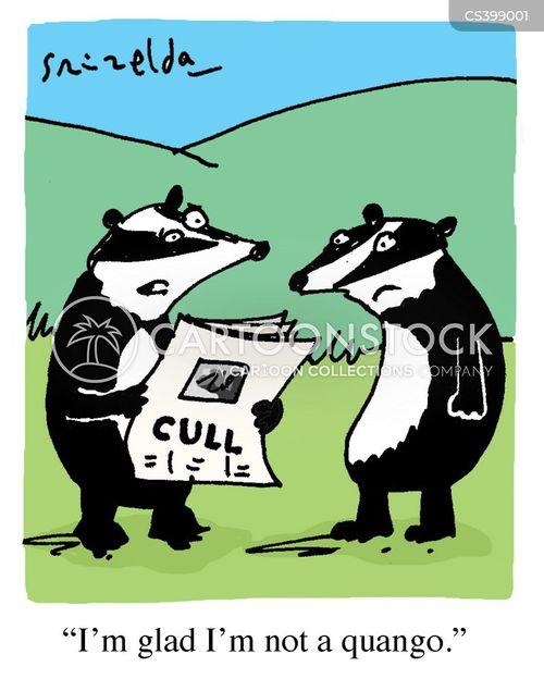 public sector cuts cartoon