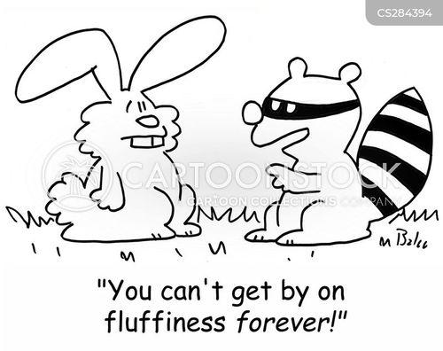 fluffiness cartoon