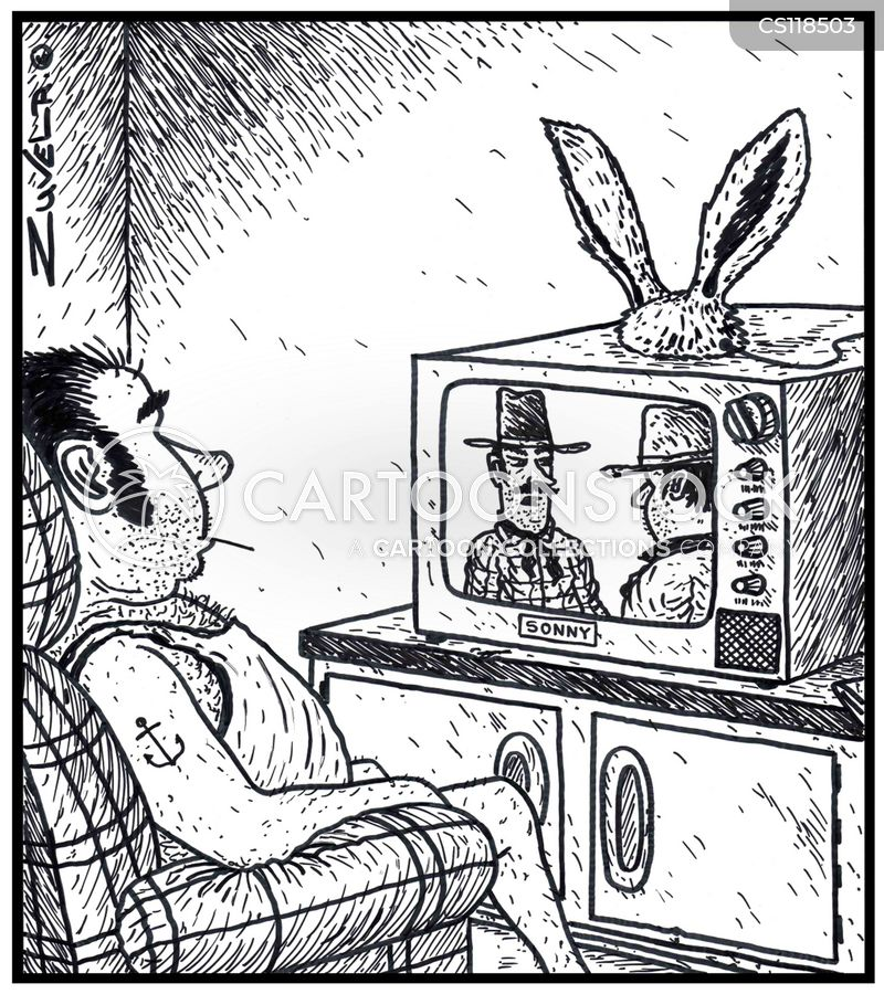 rabbit ears cartoon