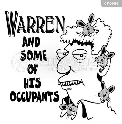 warrens cartoon