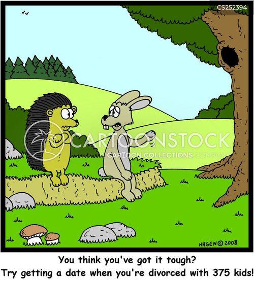 single mother cartoon