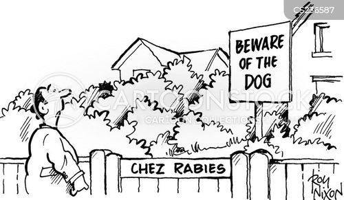 rabid cartoon