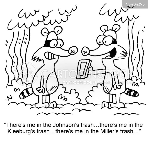 trash-can cartoon