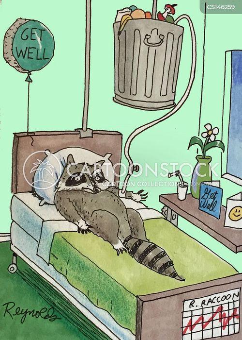 in hospital cartoon