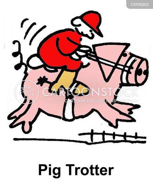 trotters cartoon