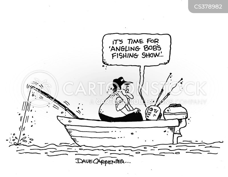 fishing shows cartoon