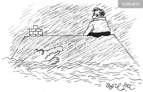 water levels cartoon