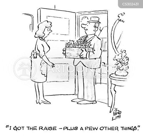 increased wage cartoon