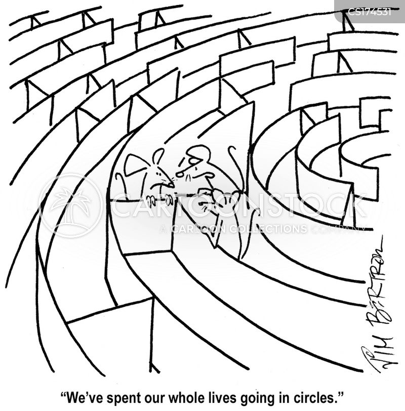 circle cartoon