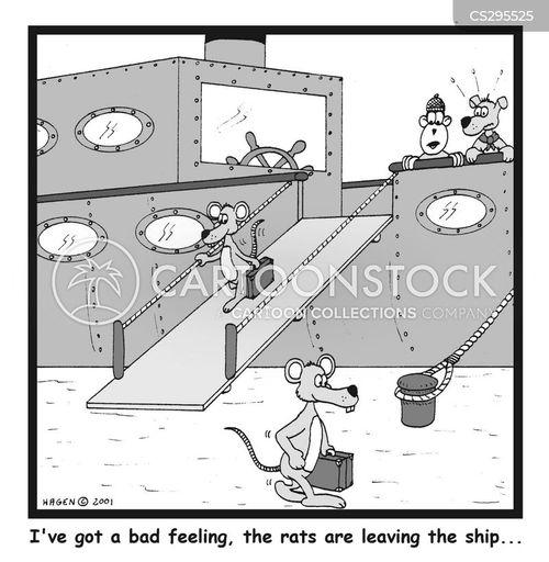 abandoning cartoon