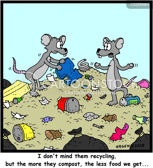 composting cartoon