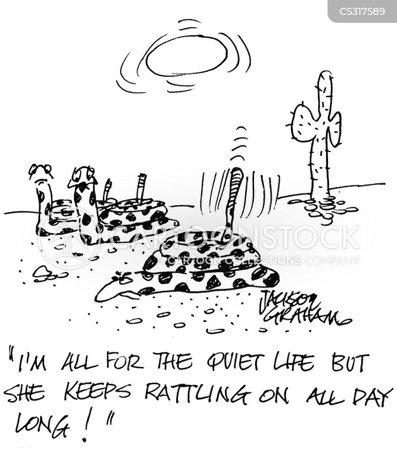 rattling cartoon