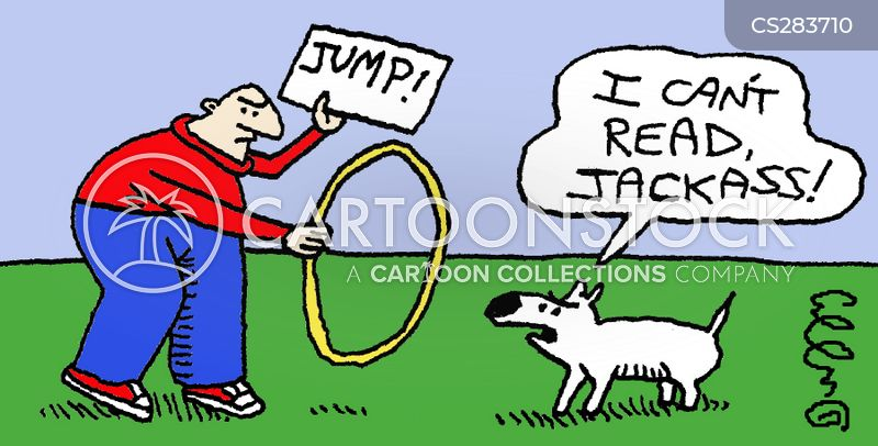 animal tricks cartoon