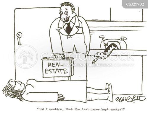 house owner cartoon
