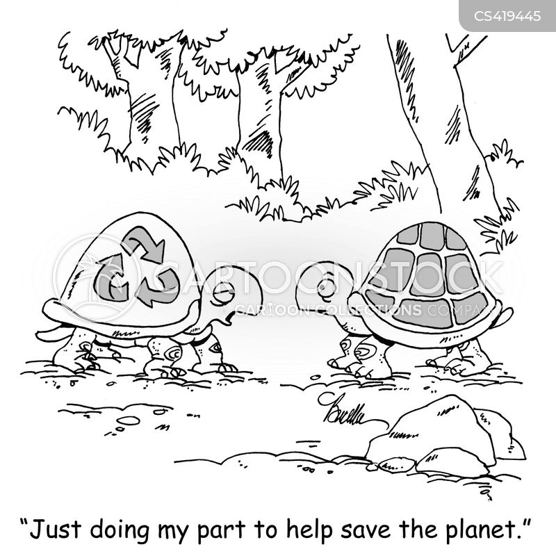 environmental problem cartoon