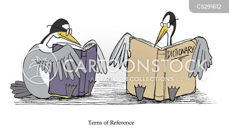 reference books cartoon