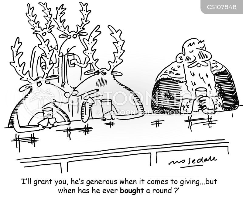 tight fisted cartoon