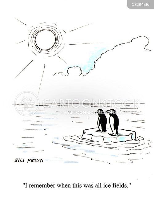 polar ice caps cartoon